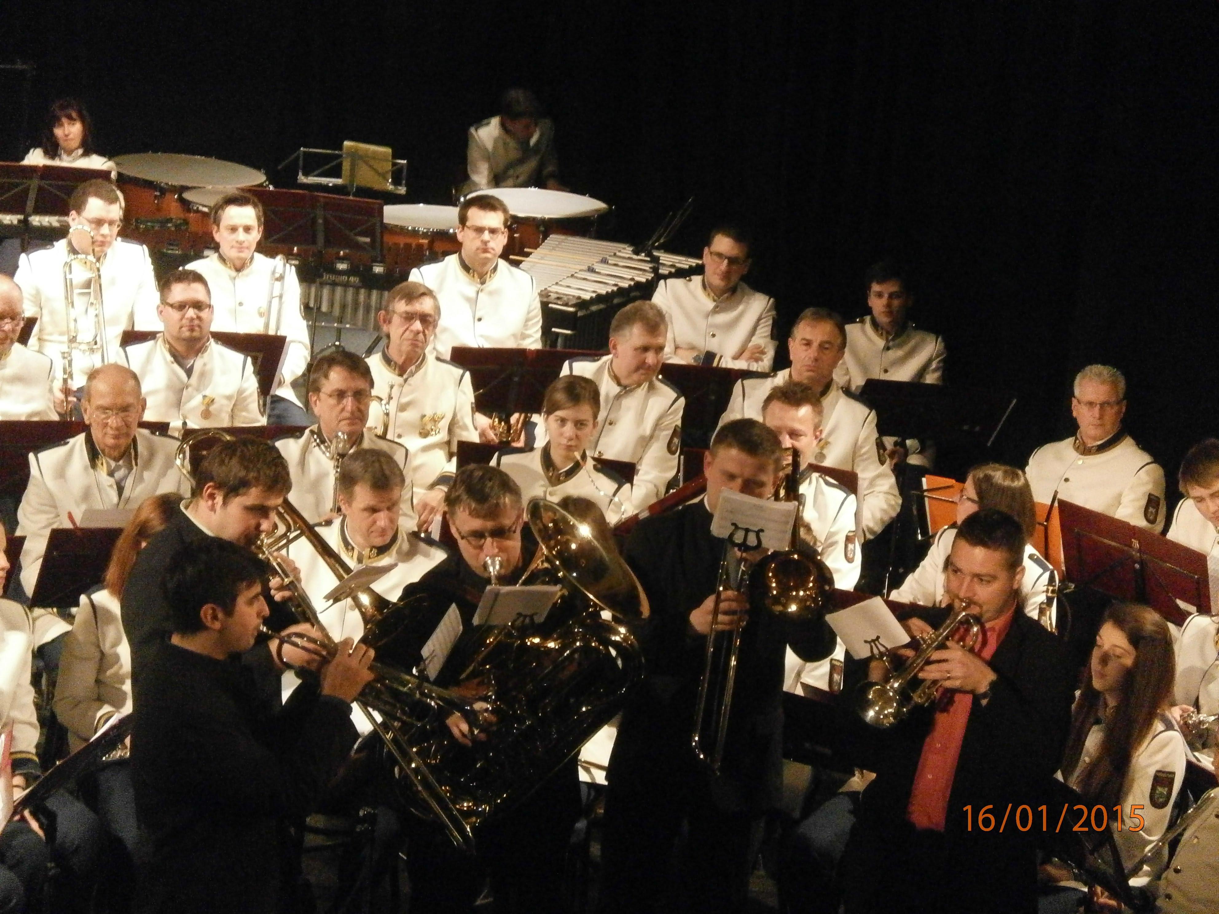 Vystoupení s Hollabrunnským orchestrem